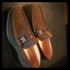 Steve Madden Brown Suede dress shoes